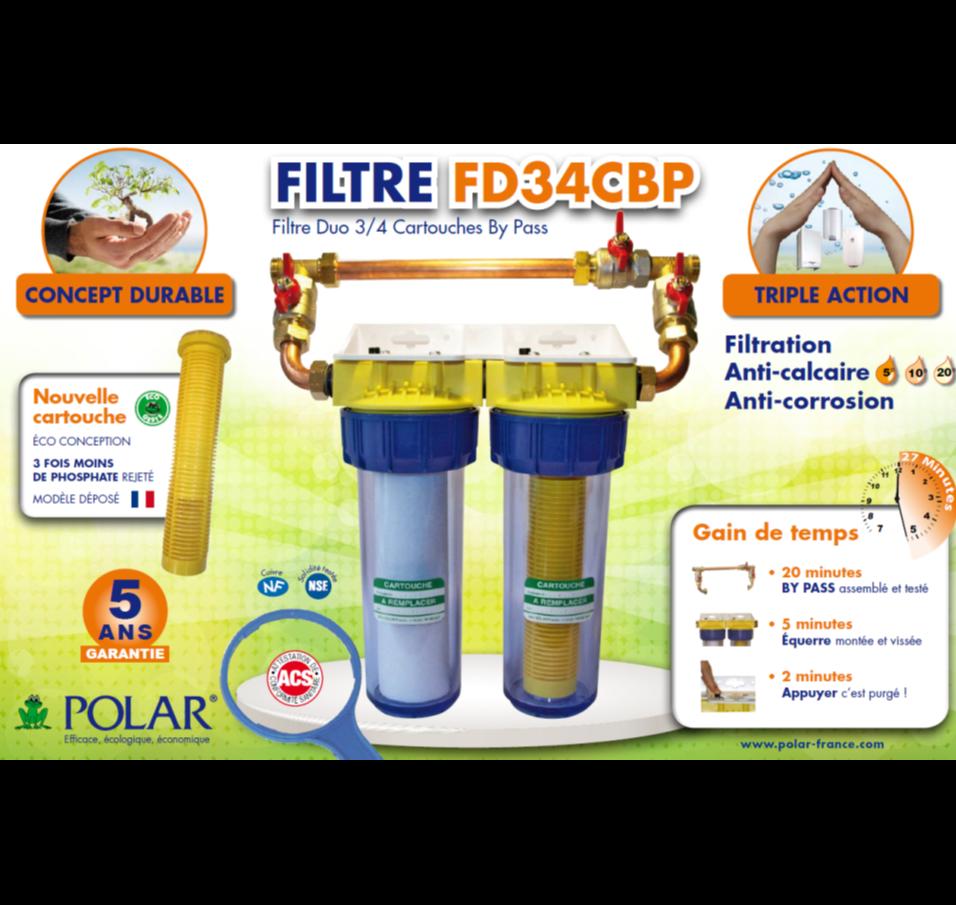 Acceder au documentNouveauté POLAR :  <br/>Filtre + Anticalcaire + Anticorrosion <br/>Ecologique – Economique - Efficace