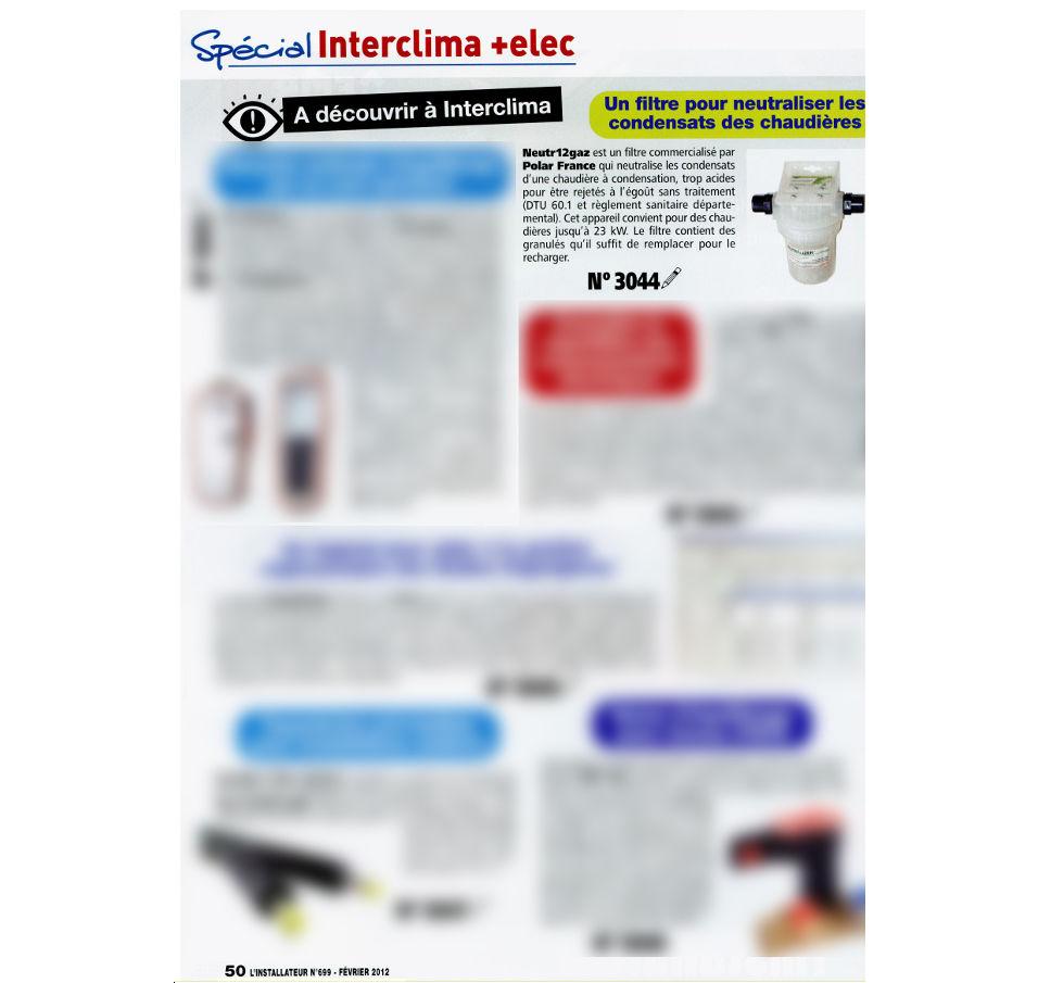 Acceder au documentNEUTR12GAZ - Magazine L\'INSTALLATEUR